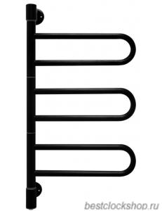 Электрический полотенцесушитель Energy U chrome G3K RAL 9005 (черный матовый)