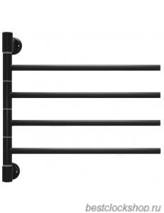 Электрический полотенцесушитель Energy I chrome G4 RAL 9005 (черный матовый)