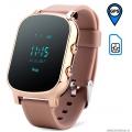Детские GPS часы Smart Baby Watch T58 золотые