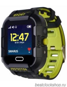 GPS часы SMARUS kids K6 черные
