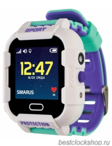 GPS часы SMARUS kids K6 белые