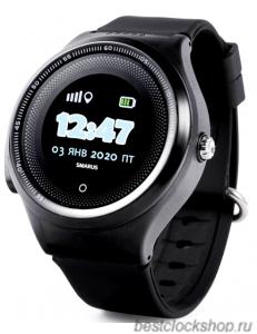GPS часы SMARUS kids K8 черные