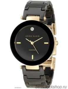 Женские наручные fashion часы Anne Klein 1018BKBK / 1018 BKBK