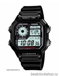 Ремешок для часов Casio AE-1200WH (10365960)