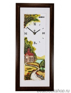 Настенные часы Sinix 5001BRN