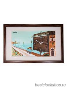 Настенные часы Sinix 5002BRN