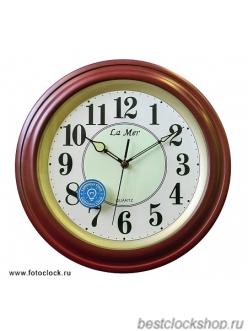 Настенные часы Lamer GВ051 Brown