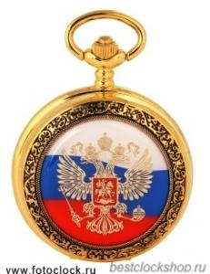 """Карманные часы Полет Хронос """"Россия"""" 2035/9056148"""