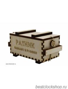 Коробка бокс подарочный Ратник